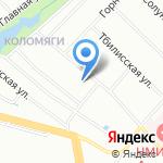 Алексеевское на карте Санкт-Петербурга