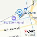 Перспектива на карте Санкт-Петербурга