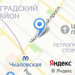 Dancelovers на карте Санкт-Петербурга