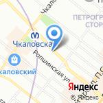 Пилар на карте Санкт-Петербурга