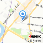 Jean Vallon на карте Санкт-Петербурга