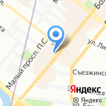 Baldinini на карте Санкт-Петербурга