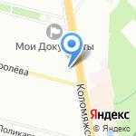 Интей Лада на карте Санкт-Петербурга
