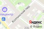 Схема проезда до компании Ручей в Санкт-Петербурге