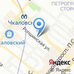 Авеста Комерс на карте Санкт-Петербурга