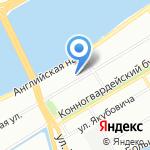 Радиочастотный центр центрального Федерального округа на карте Санкт-Петербурга