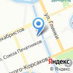 Государственный академический Мариинский театр на карте Санкт-Петербурга