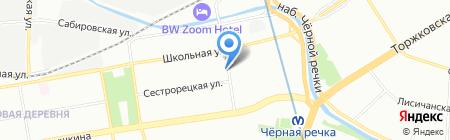 Товары для дома на карте Санкт-Петербурга