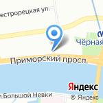 Бордстрайк на карте Санкт-Петербурга