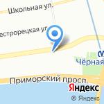 Магазин-киоск продовольственных товаров на карте Санкт-Петербурга