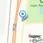 Металл Кубинка на карте Санкт-Петербурга