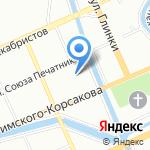 Инвест-Сервис-плюс на карте Санкт-Петербурга