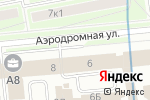 Схема проезда до компании ПостИнКом в Санкт-Петербурге