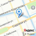 Санкт-Петербургский Институт Системной Терапии и Организационного Консультирования на карте Санкт-Петербурга