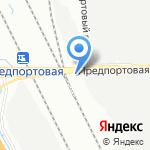Церковь Николая Чудотворца на карте Санкт-Петербурга