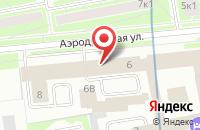 Схема проезда до компании Оптохимсервис в Санкт-Петербурге
