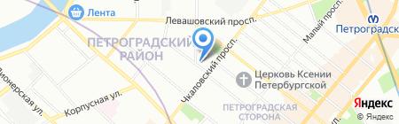 Экодом на карте Санкт-Петербурга
