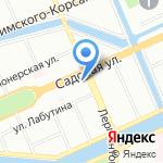 Средняя общеобразовательная школа №260 на карте Санкт-Петербурга