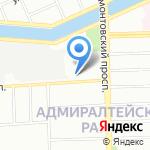 Балтийский строительный комплекс на карте Санкт-Петербурга
