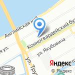 Профсоюз работников радиоэлектронной промышленности на карте Санкт-Петербурга