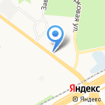 Магазин спецодежды и компрессоров на карте Санкт-Петербурга