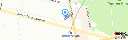 Акция красоты на карте Санкт-Петербурга