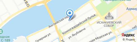 Детский сад №32 на карте Санкт-Петербурга