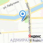 Карамболь на карте Санкт-Петербурга