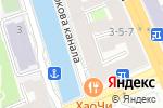 Схема проезда до компании На Театральной в Санкт-Петербурге