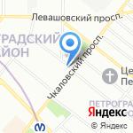 Юнона Люкс на карте Санкт-Петербурга