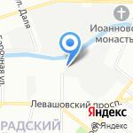 Офорт на карте Санкт-Петербурга
