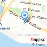 Банк Финсервис на карте Санкт-Петербурга