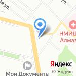 Aero на карте Санкт-Петербурга