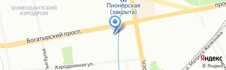 Банкомат Банк Александровский на карте Санкт-Петербурга