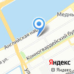 Стампс на карте Санкт-Петербурга