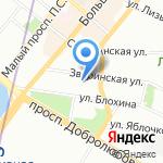 Мисс на карте Санкт-Петербурга