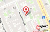 Схема проезда до компании Макссима в Санкт-Петербурге