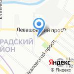 Пункт социально-консультативной помощи №6 на карте Санкт-Петербурга