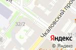 Схема проезда до компании Электрик в Санкт-Петербурге