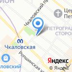 ЭлО на карте Санкт-Петербурга