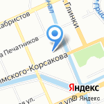 Маратэк Рус на карте Санкт-Петербурга