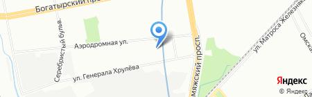 Санте на карте Санкт-Петербурга
