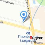Casual на карте Санкт-Петербурга