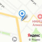 Млечный путь на карте Санкт-Петербурга