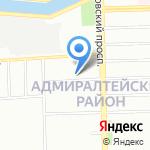 Территория Материнства на карте Санкт-Петербурга