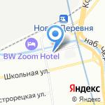 Центр психолого-медико-социального сопровождения Приморского района на карте Санкт-Петербурга