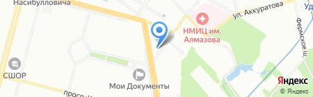 ЕТС на карте Санкт-Петербурга