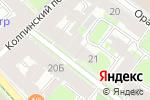 Схема проезда до компании Бест в Санкт-Петербурге