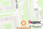 Схема проезда до компании Рыбная лавка в Санкт-Петербурге