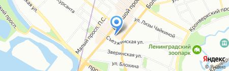 Армуду на карте Санкт-Петербурга